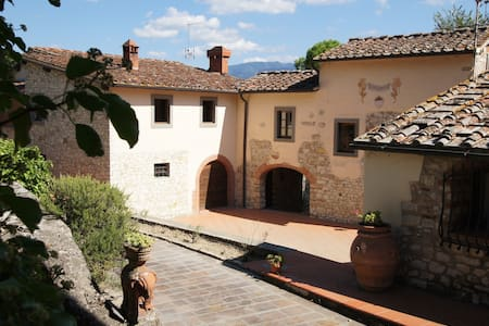The laurels - Tuscan farmhouse with swimming pool - Rignano sull'Arno - 公寓