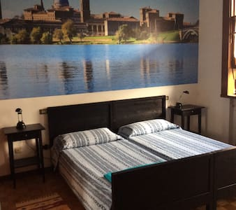 Double Room #3 in historical centre (with kitchen) - Mantova