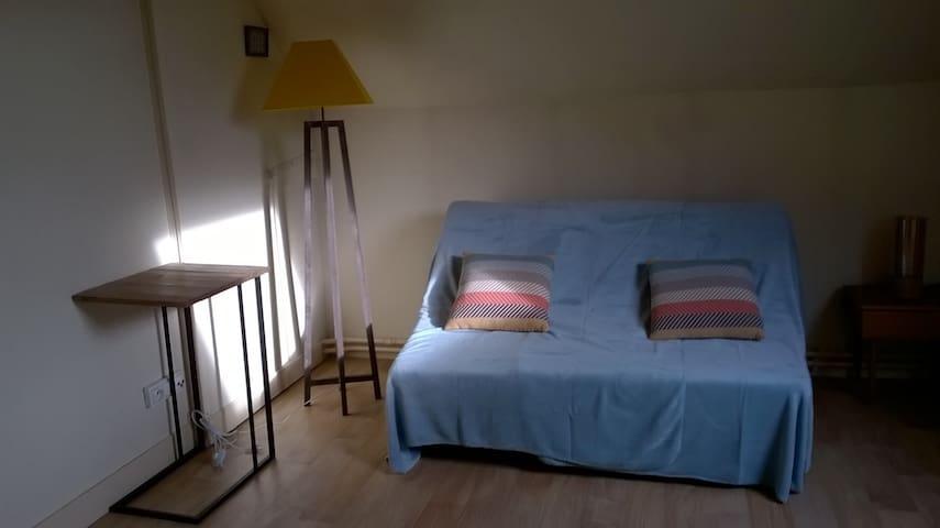 Studio meublé proche gare - Sens - Apartemen