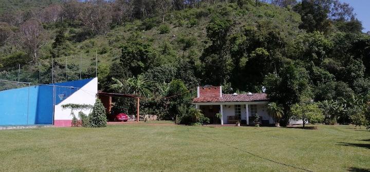 Casa de campo Ixtapan del Oro Naturaleza Descanso.
