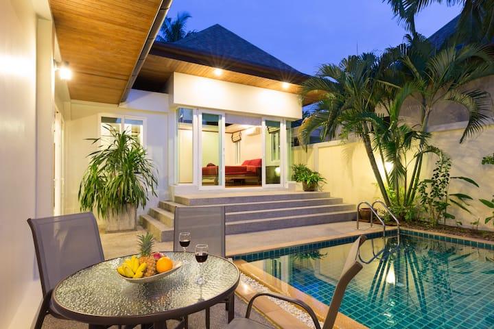 ✌️Thai-Balinese Boutique Villa in RawaiⒶ3 Bedrooms