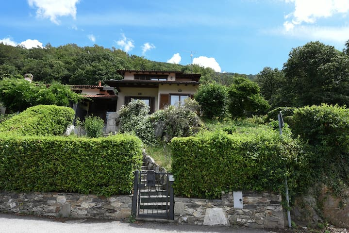 House with private garden and dream view
