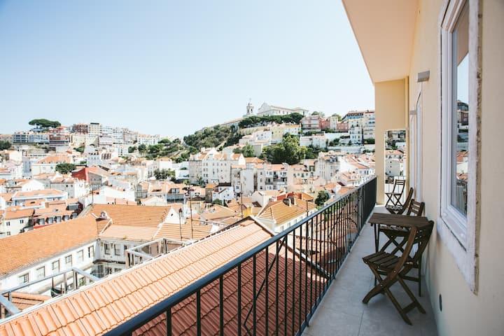 Castello Prime Suites - 03 Panoramic Balcony Apt