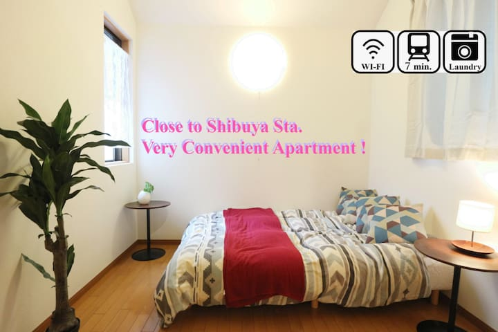 #203: 7min to Shibuya St, Free pocket wifi