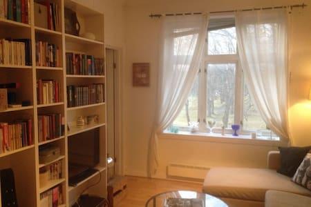 Cosy apartement next to NTNU and the city center - Trondheim - Leilighet