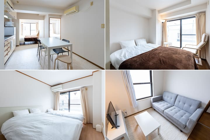 Stunning big room 10min from Yokohama station