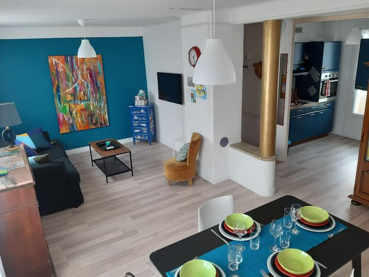 Appartement Alyscamps,climatisation, wifi, parking