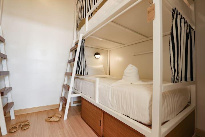 Hostel Lullaby - Dorm room