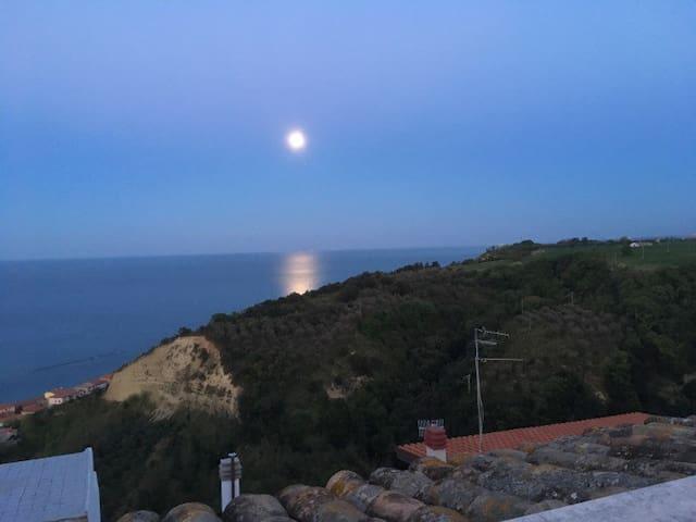 Terass view at night