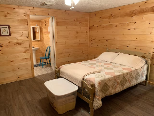 Bedroom #1:  Full size and twin size beds