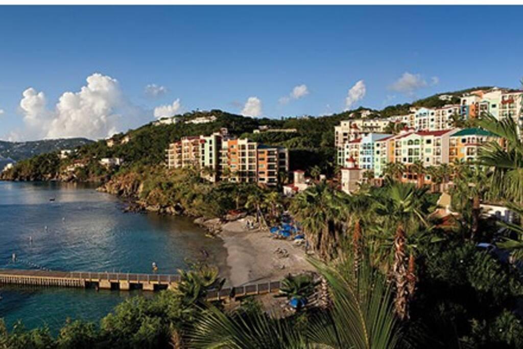 St Thomas Virgin Islands Marriott Vacation Club