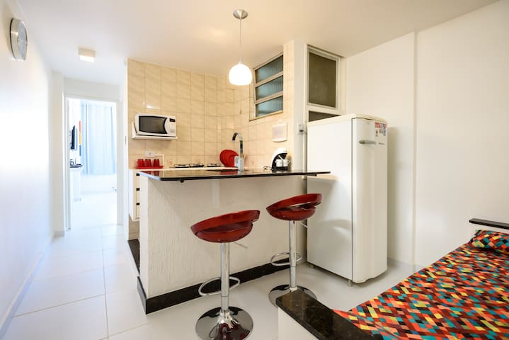 Copacabana - Posto 3 - Quadra Praia - Rio de Janeiro - Apartment