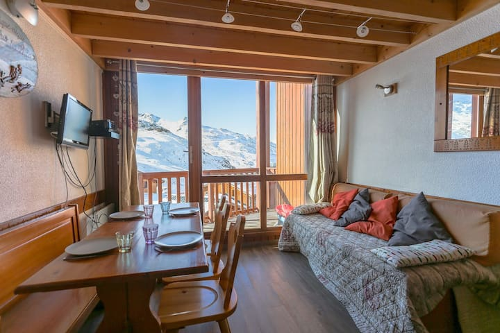 Val Thorens Silveralp 45 m2 comfortable for 6 pers