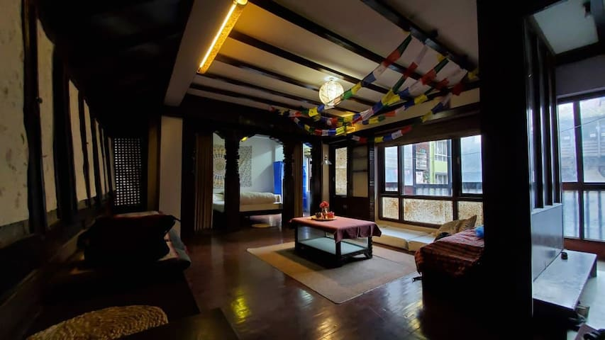 Traditional Newari 1 bedroom apartment.