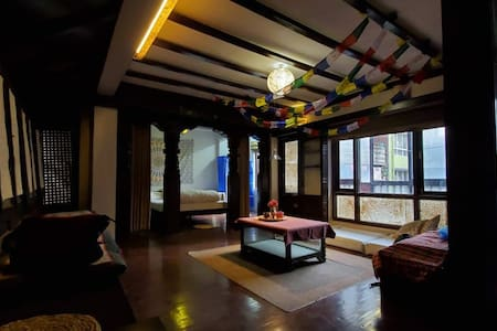Traditional Newari 1bhk studio in Pigeon Homestay