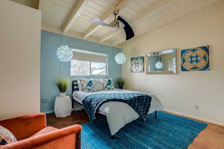 Guest Bedroom with Sugar Shack flare!