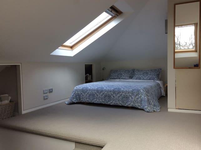 Warm sunlit room in heritage villa