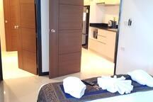 Nai Harn beach, New 1 bdr with kitchen (50 sq.m.)