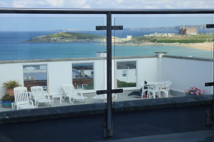 House overlooking Fistral Beach - Newquay - Haus