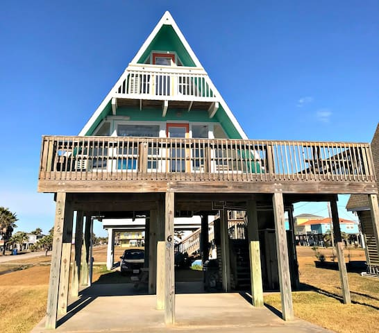 Modern Beach-A-Frame in Surfside!