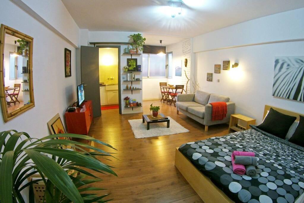 Bonito apartamento c ntrico apartamentos en alquiler en - Alquiler apartamento puerto de la cruz ...