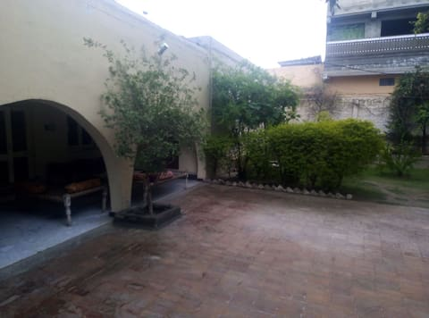 Guest house and a hujra