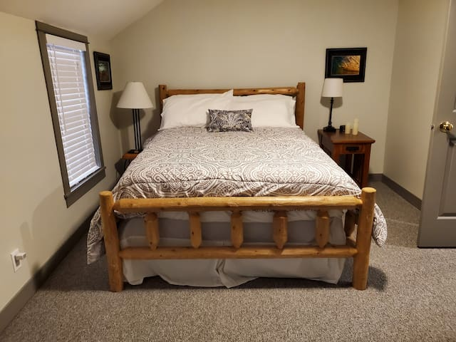 A double bed is available in our 3rd bedroom
