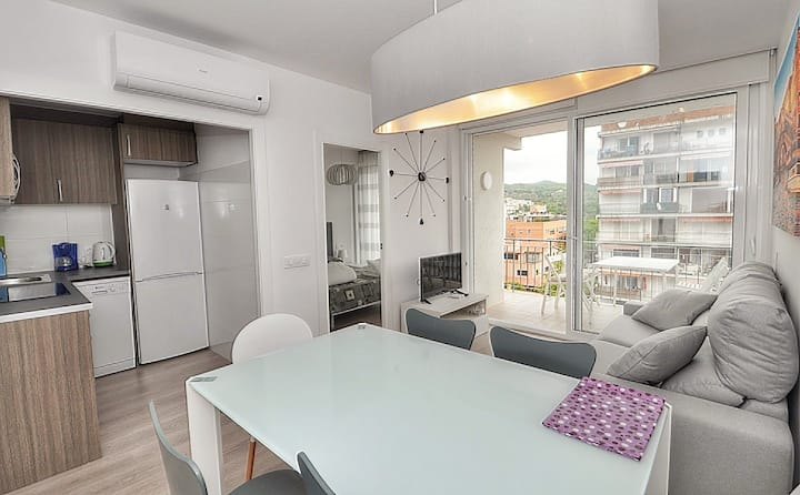 Apartment Sun Village, 150 m from the beach, WIFI, terrace
