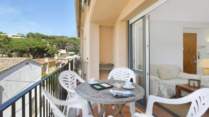 Apartment with terrace close to Llafranc Beach
