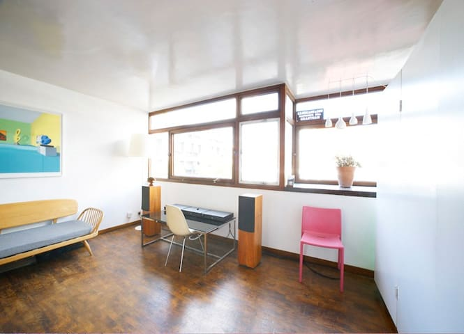 Peaceful, bright apartment in lovely Clerkenwell