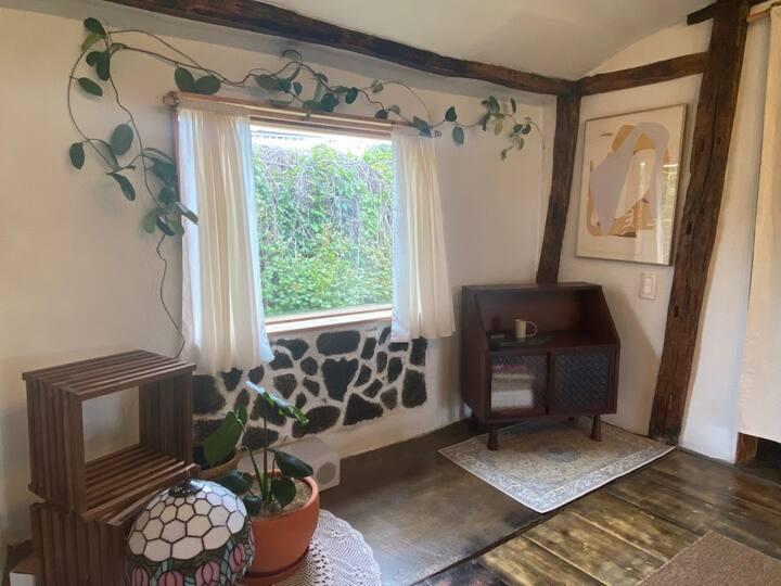 """월정리 독채 """"월정숲"""" private rental house"""