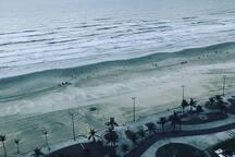 Costa do Sol - Praia Grande -  Pé na areia! Mara!