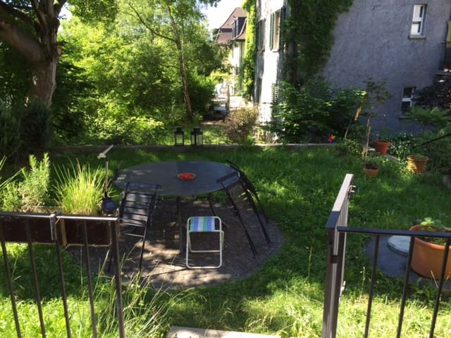 Sunny flat with own garden - Zürich - Condominium