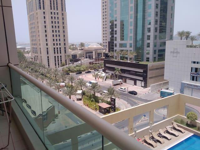 Luxurious 1BHK apartment, Next to JBR Marina.