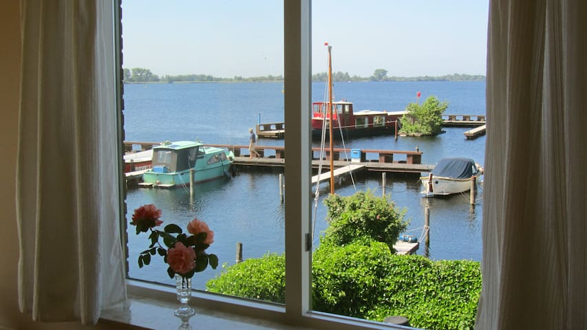 Comfy apt. with best views over a lake near A`dam - Vinkeveen - Apartment