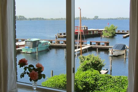 Comfy apt. with best views over a lake near A`dam - Vinkeveen - Apartament