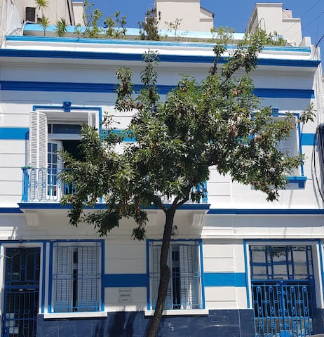Habitacion doble en Palermo con aire acondicionado