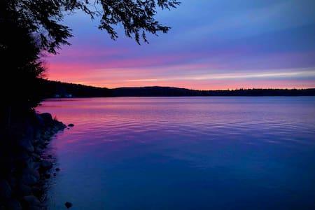 Fall escape on Sherbrooke lake