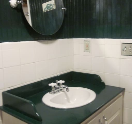 Lower Level Bathroom Sink