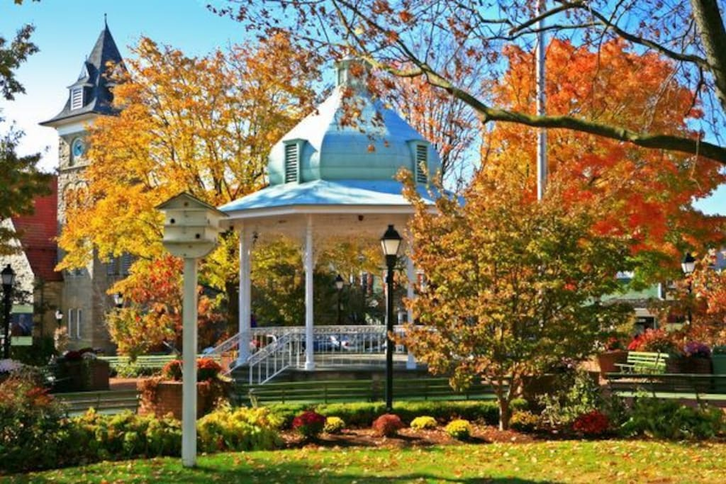 Town Gazebo in Historic Ligonier