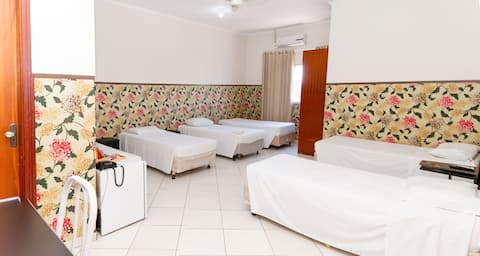 Suite confortável em Indaiatuba para ate 6 pessoas