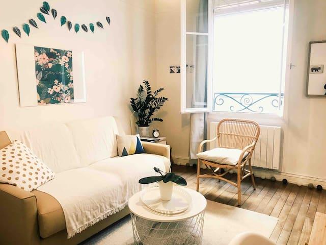 Appartement cosy au cœur du vieux Tours