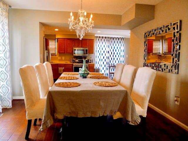 Private home near DC, Nat'l Harbor, MGM, Six Flags