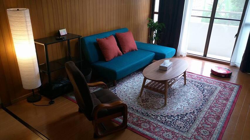 Makishi station 45m2 comfy home! - Naha-shi - Apartamento