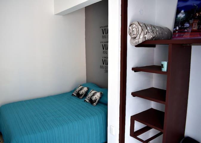 Habitación Turquesa - Casa Concordia