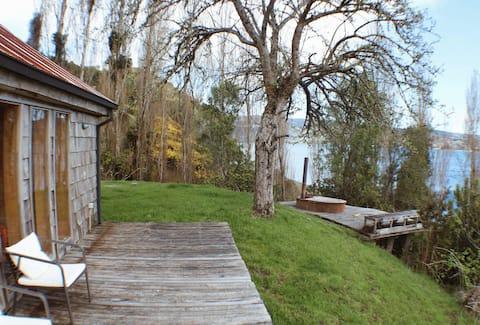 Rustikálna chata na nábreží, polostrov Rilán