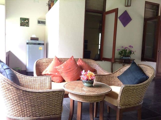 Exclusive garden flat in Mae Rim, Chiang Mai - Chiang Mai - Bed & Breakfast