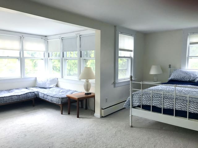 another view of master bedroom