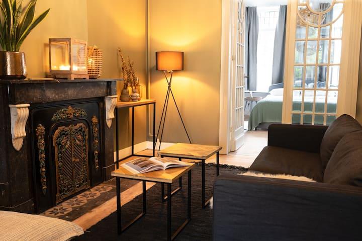 Authentiek  4p appartement' ERNEST'