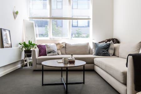 Beautiful clean 1br apt - South Yarra - Appartement